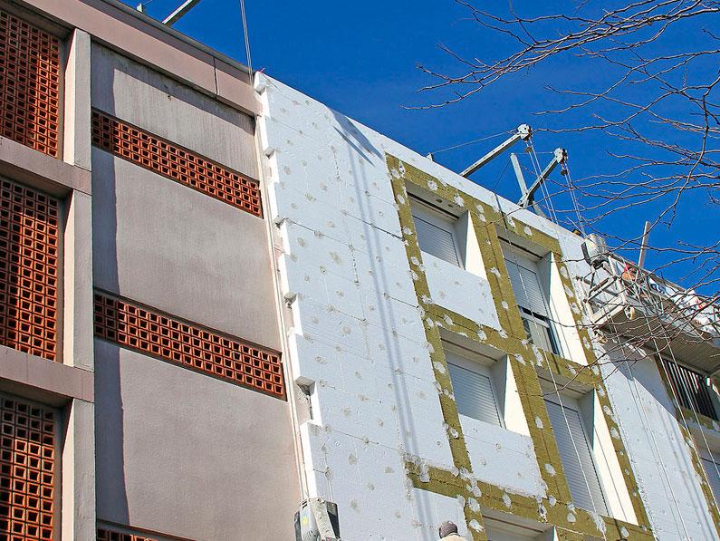 Cu l es el mejor aislante t rmico para fachadas cantitec - Mejor aislante termico paredes ...