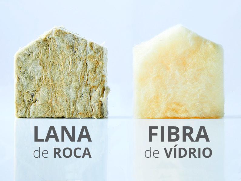 Diferencias entre lana de roca y fibra de v drio cantitec - Lana de roca aislante termico ...