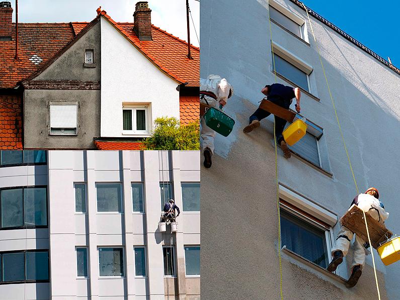 Cantitec pinturas antihumedad para fachadas exteriores, pintura antimoho, eliminar humedades de las paredes