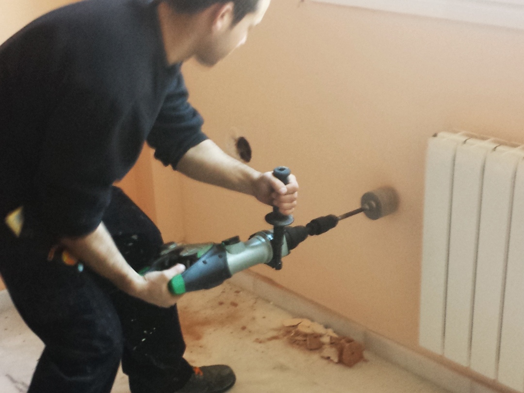 Aislamiento de camaras con espuma de poliuretano