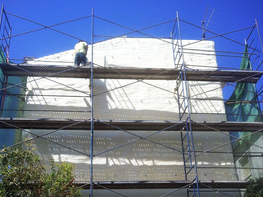 Aislamiento de fachada en Granada vivienda particular