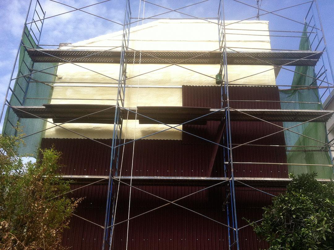 Aislamiento de fachada en vivienda particular Granada
