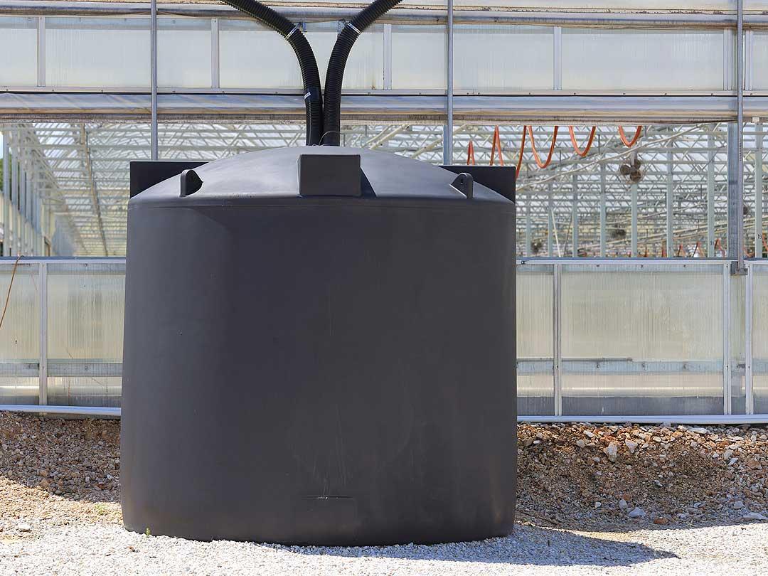 Impermeabilizacion deposito de agua para riego