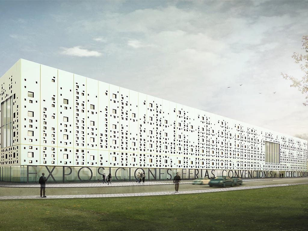 Centro de exposiciones Parque Joyero, impermeabilización de cubiertas y muros de contención, trabajo realizado por la empresa Cantitec