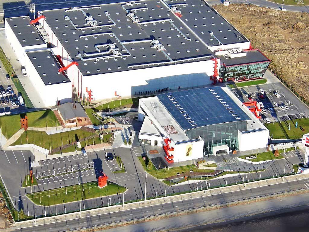 Centro logístico Wurth España, aislamiento e impermeabilización de cubiertas, trabajos realizados por la empresa Cantitec con sede en Granada