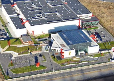 2ª Fase de ampliación Centro Logístico WURTH España, aislamiento e impermeabilización de cubierta