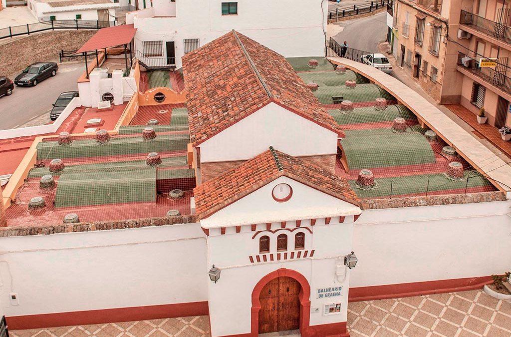 Hotel Balneario de Graena, impermeabilización de terrazas