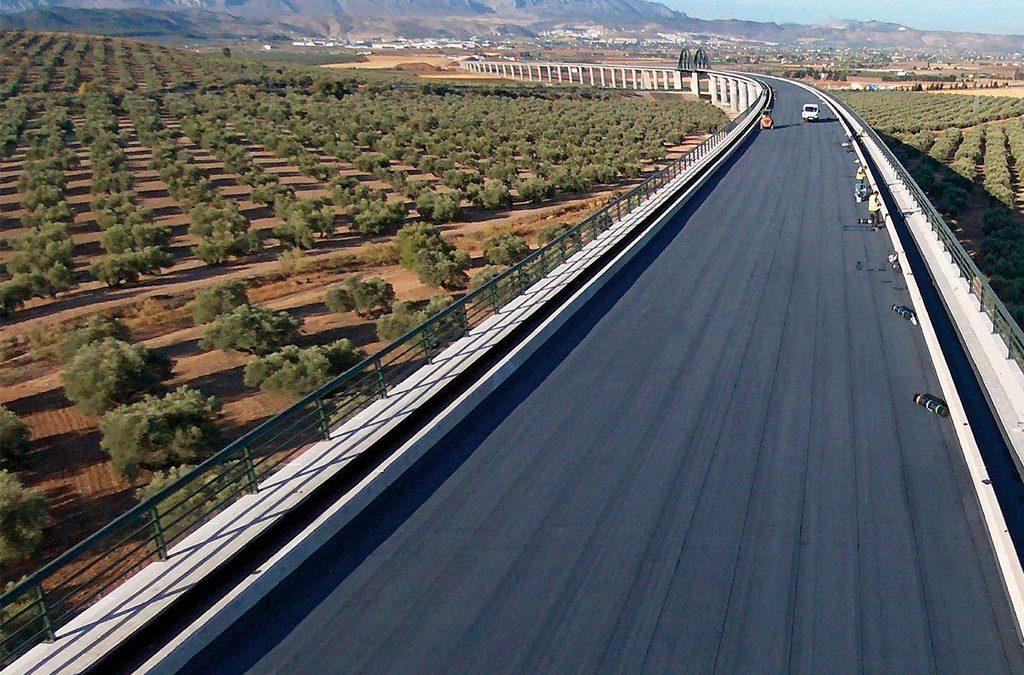 Impermeabilización de Tablero de Puente tramo Ave «Peña de los Enamorados» (Antequera)