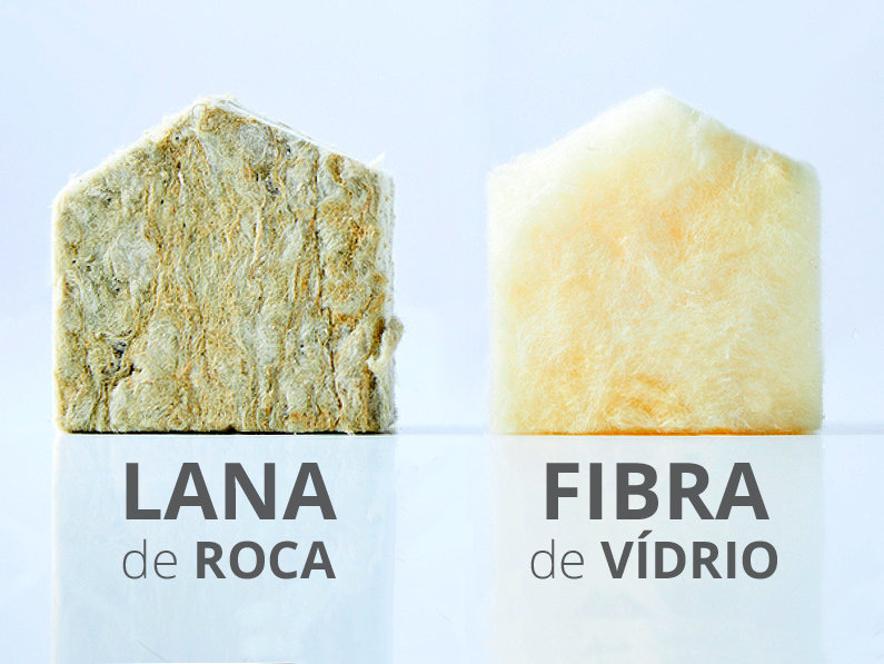 Diferencias entre lana de roca y fibra de vidrio