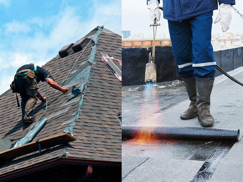 Cubiertas y tejados reparación y impermeabilización por la empresa cantitec de granada