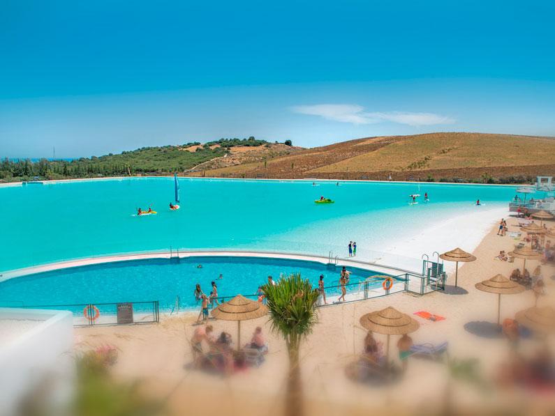 Cantitec participa en el primer proyecto Crystal Lagoons en Europa