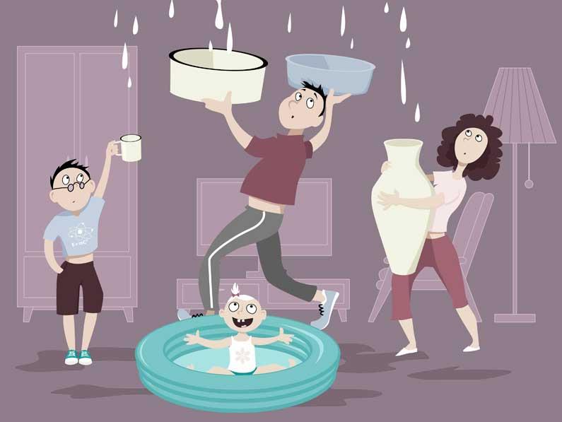 Problema de goteras: cómo prevenirlo