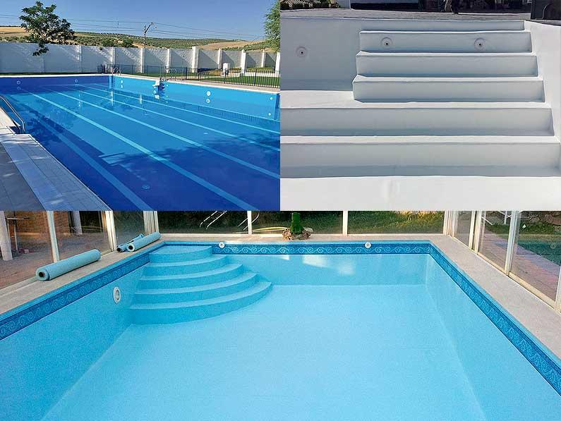 Cantitec empresa de reparación de piscinas en Granada, Málaga, Almería, jaén y Sevilla