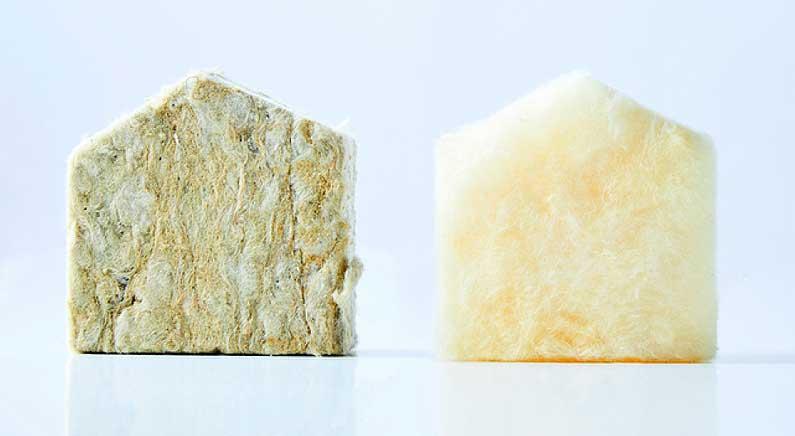 lanas minerales, lana de roca y lana mineral de vidrio certificado EUCEB Cantitec