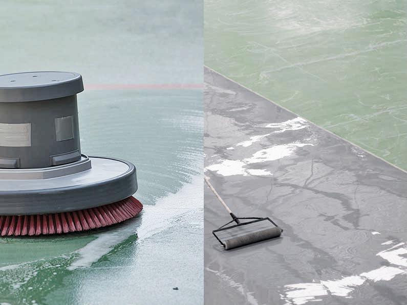 Cantitec impermeabilizar pavimentos para parkings con pinturas epoxi y resinas epoxi Granada Málaga Sevilla Jaén Almería