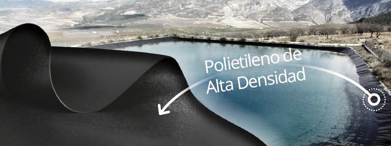 impermeabilización de balsas de agua los mejores materiales Cantitec en Granada Málaga Sevilla Almería y Jaén