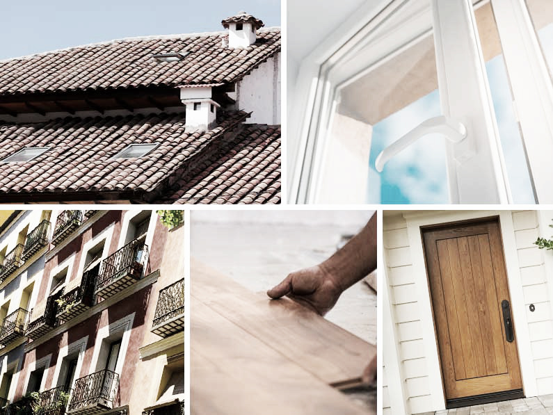 los puntos débiles aislamiento térmico en vivienda residencial piso casa cantitec Granada Málaga Sevilla Almería Jaén
