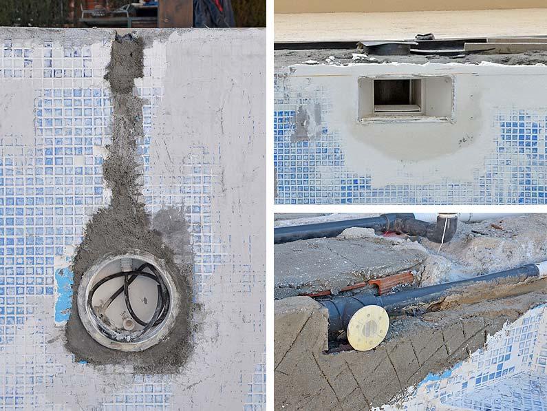 Cantitec reparar una piscina de obra en Granada Málaga Almería y Jaen