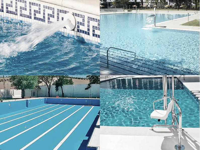 Dise o y construcci n de piscinas p blicas aspectos a for Construccion de piscinas en malaga