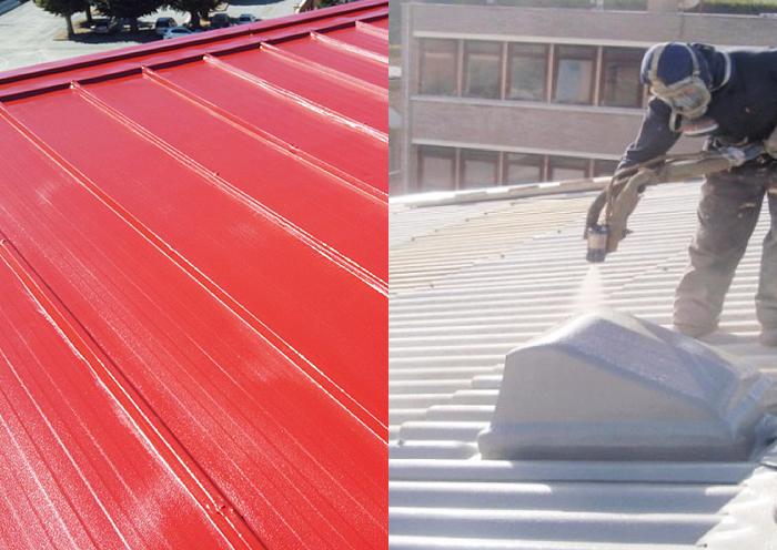 Elige Impermeabilización con Poliurea en cubierta no transitable para una protección total de la superficie