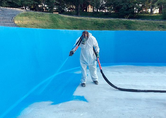 Elige Impermeabilización con Poliurea en piscinas para una protección total de la superficie