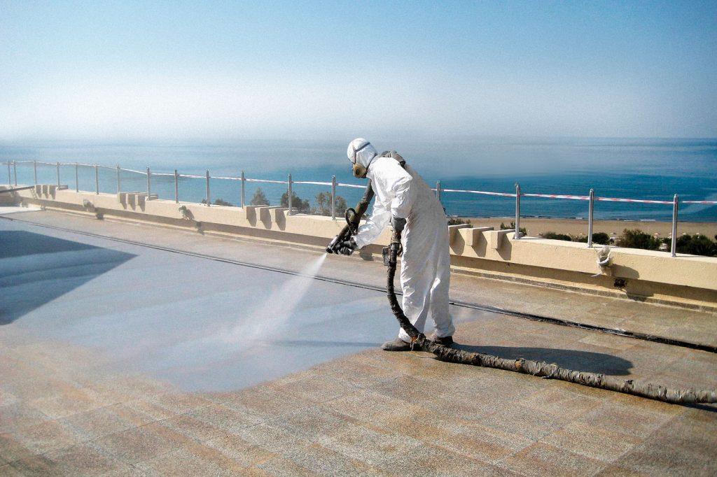 Solución de impermeabilización con poliurea en Málaga