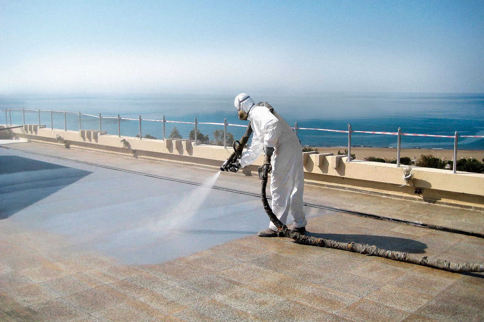 Solución de impermeabilización con poliurea en Alicante